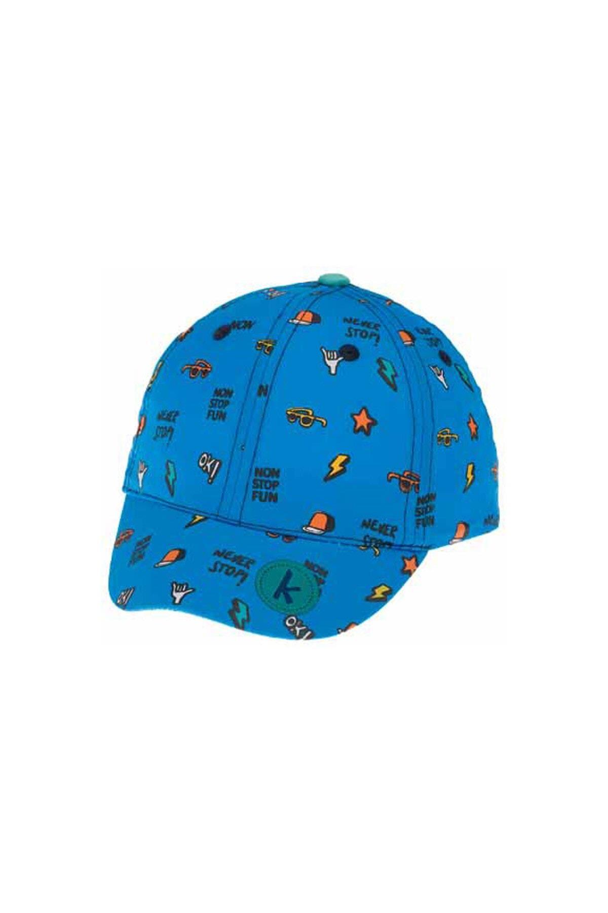 Kitti Bebe Erkek Şapka (1-4 Yaş) 111005 Mavi