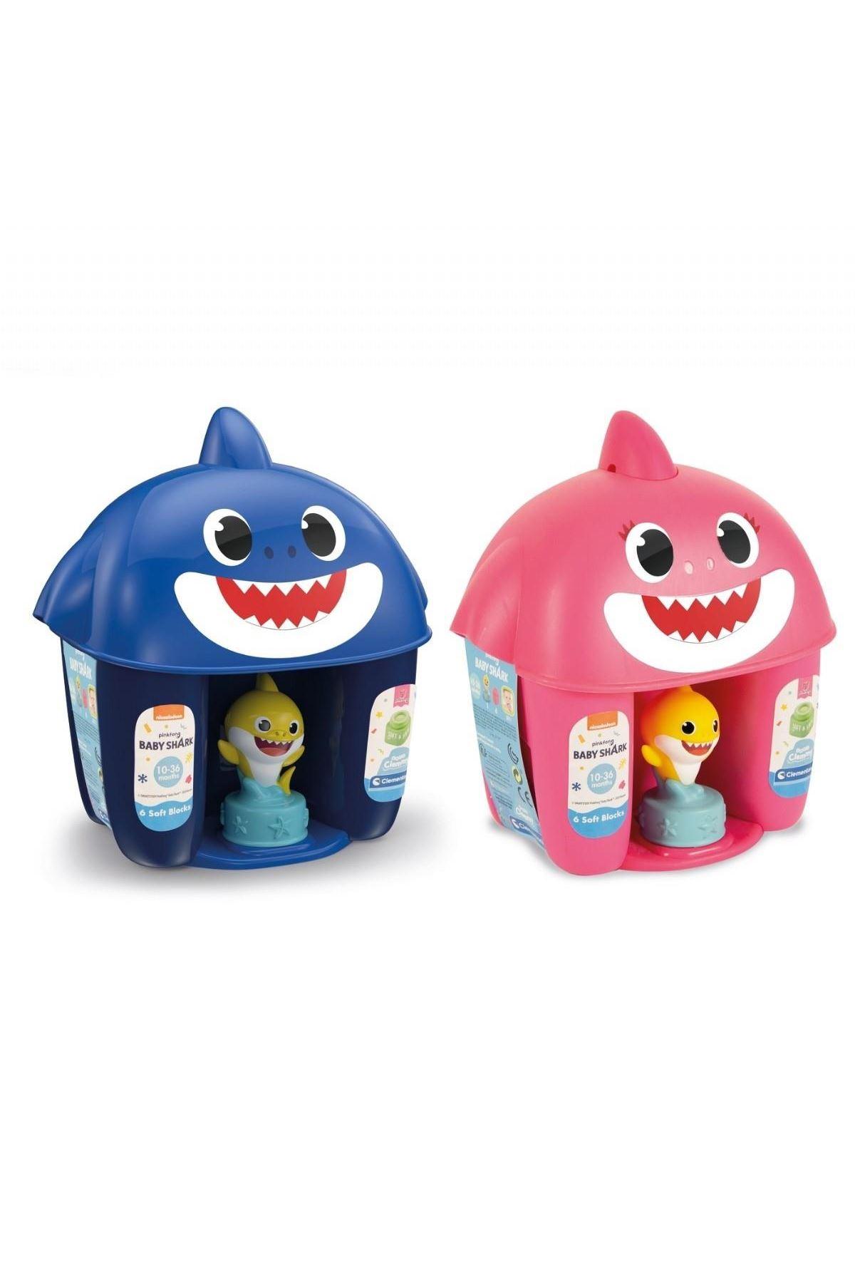 Clementoni Baby Shark Yumuşak Blok Sepeti 17425
