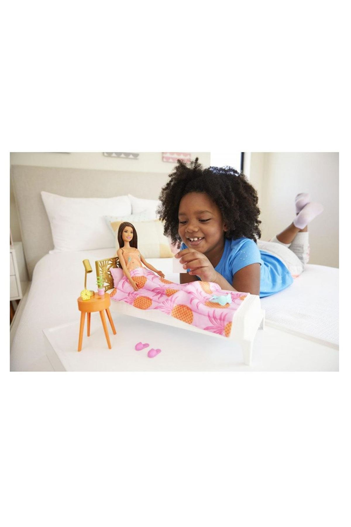 Barbie Bebek ve Oda Oyun Setleri GTD87 GRG86