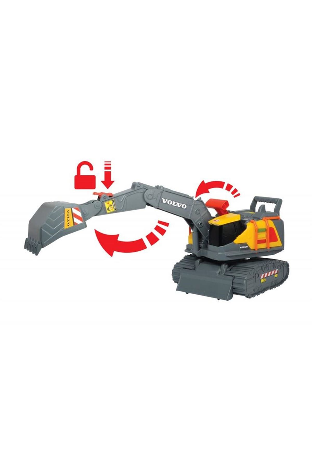 Dickie Toys Volvo Weight Lift Excavator 5006