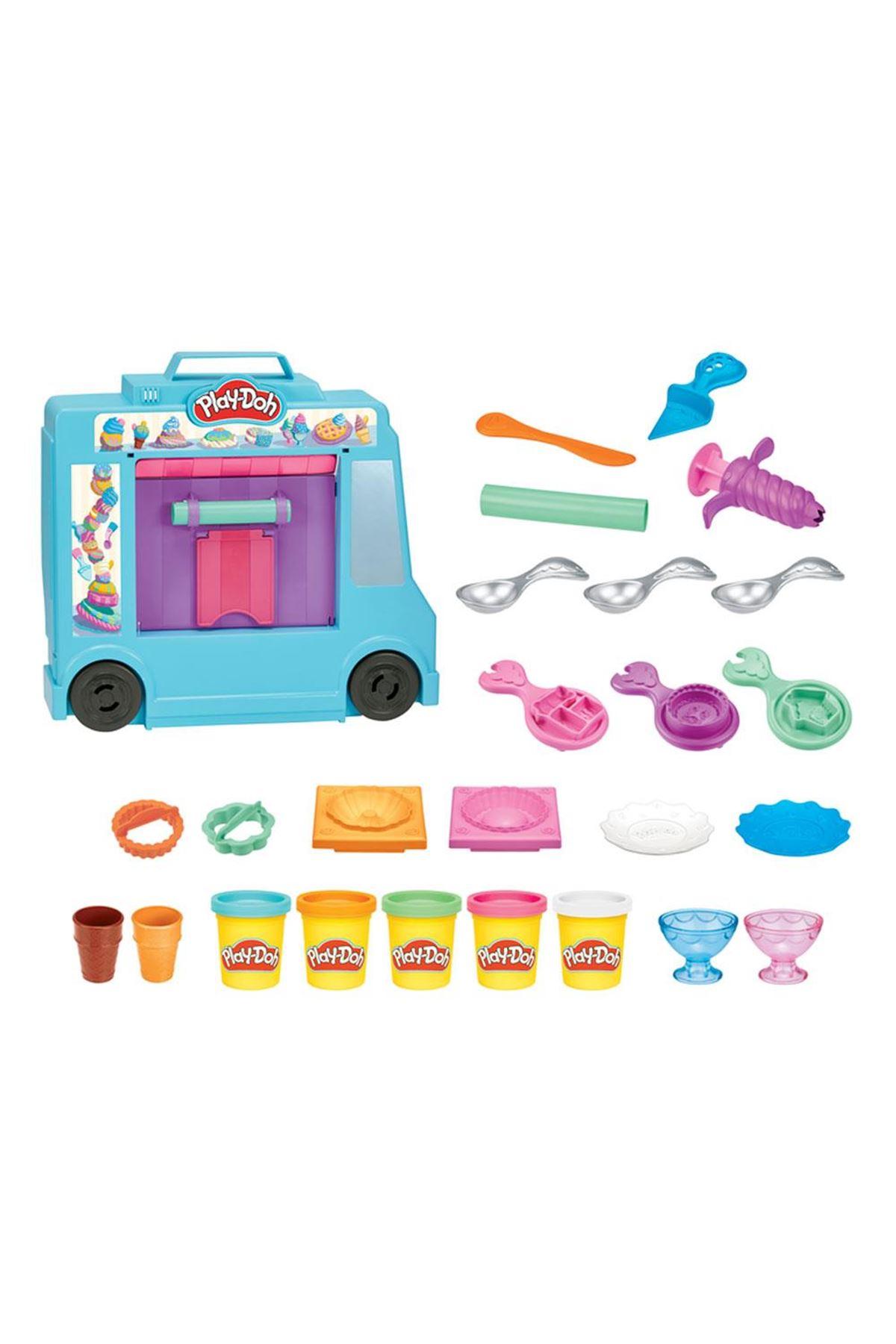 Play-Doh İce Cream Truck Play Set F1390