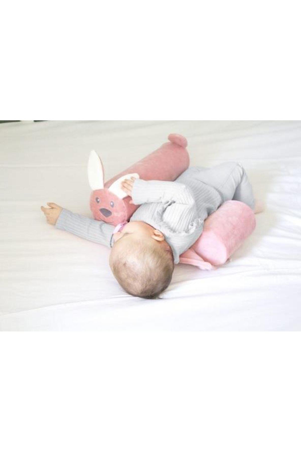 BabyJem Güvenli Uyku Yastığı 679 Pembe Tavşan