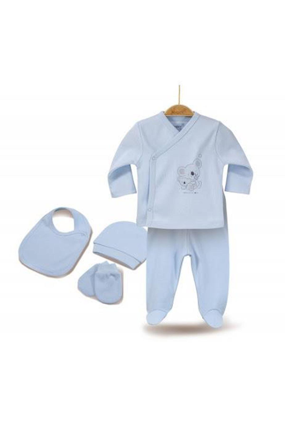 Bibaby Biorganic Basıc 5Li Set 62165 Mavi