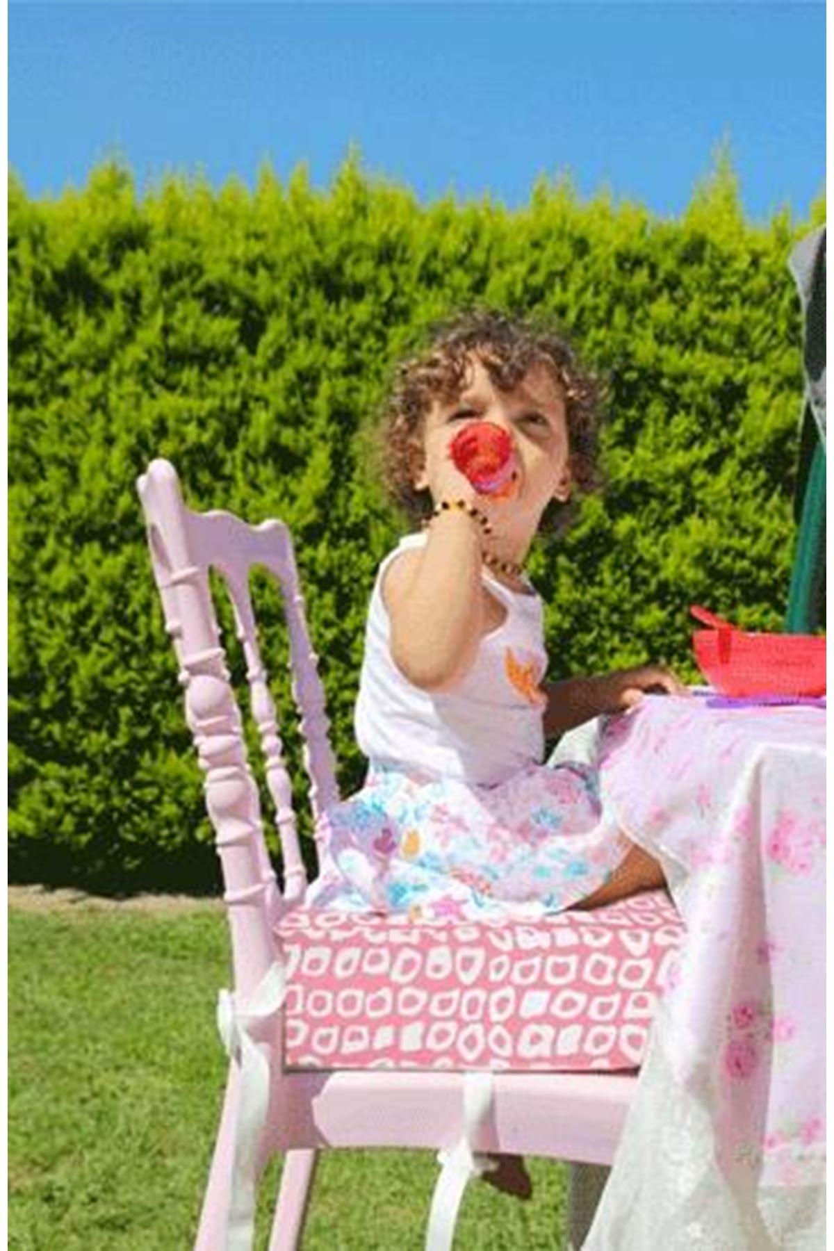 BabyJem Sandalye Yükseltici Minder 452 Pembe Kare