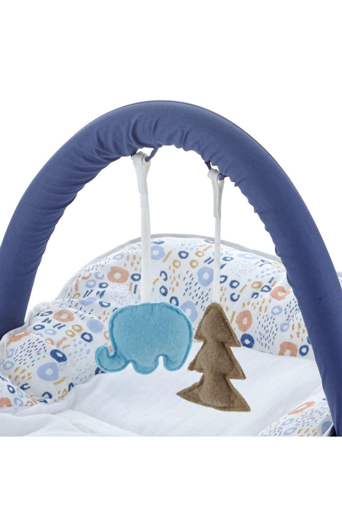 BabyJem Yat Otur Oyna Bebek Minderi 524 Renkli Halkalar