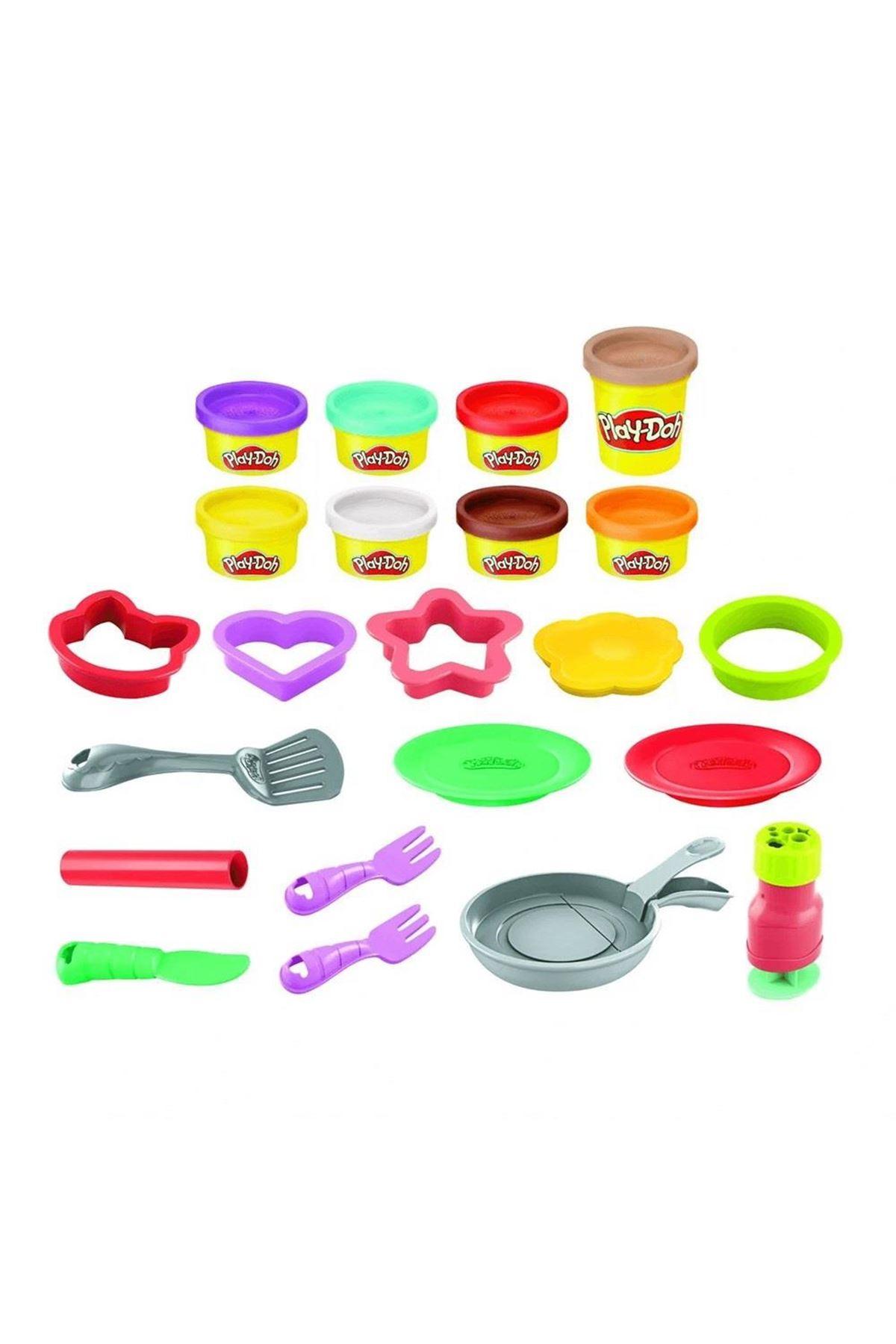 Play-Doh Yaratıcı Mutfağım Pankek Oyun Seti F1279