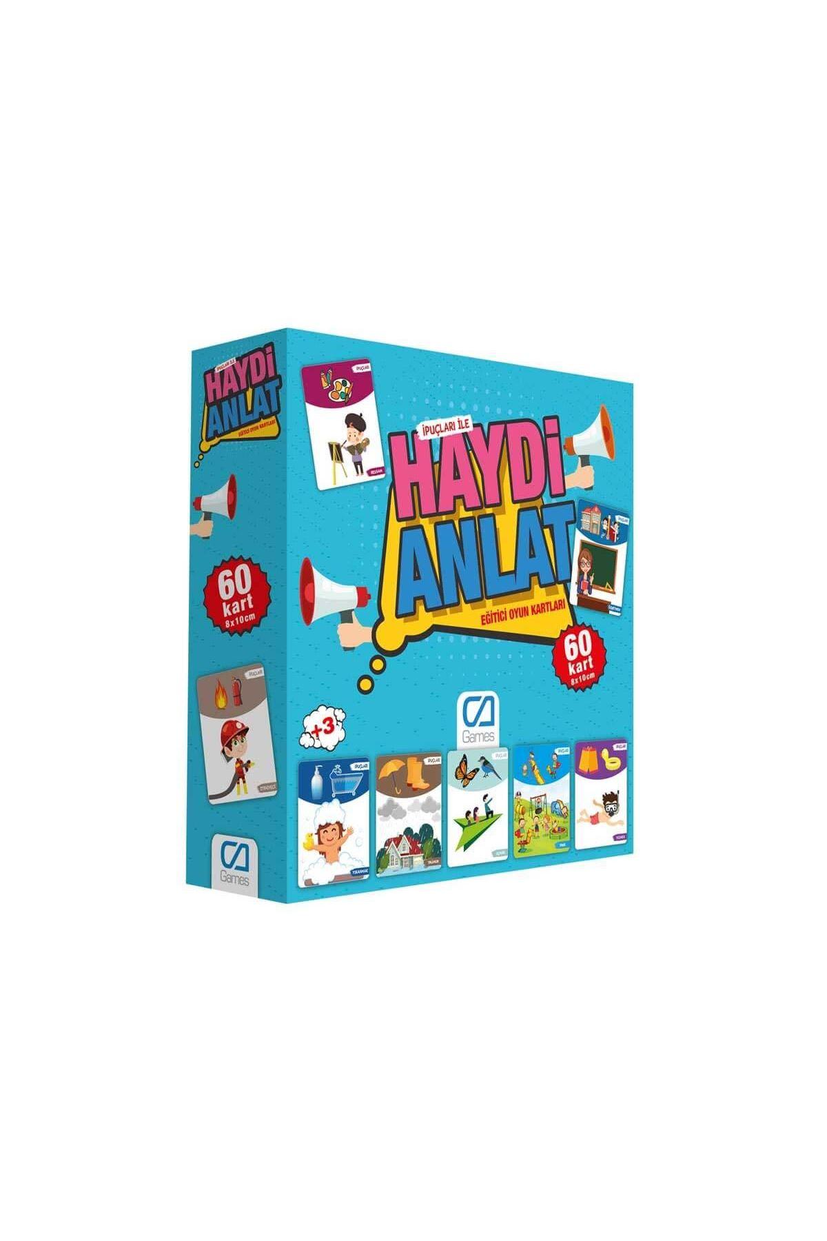 Games Haydi Anlat Eğitici Oyun Kartları 60 Kart 5080