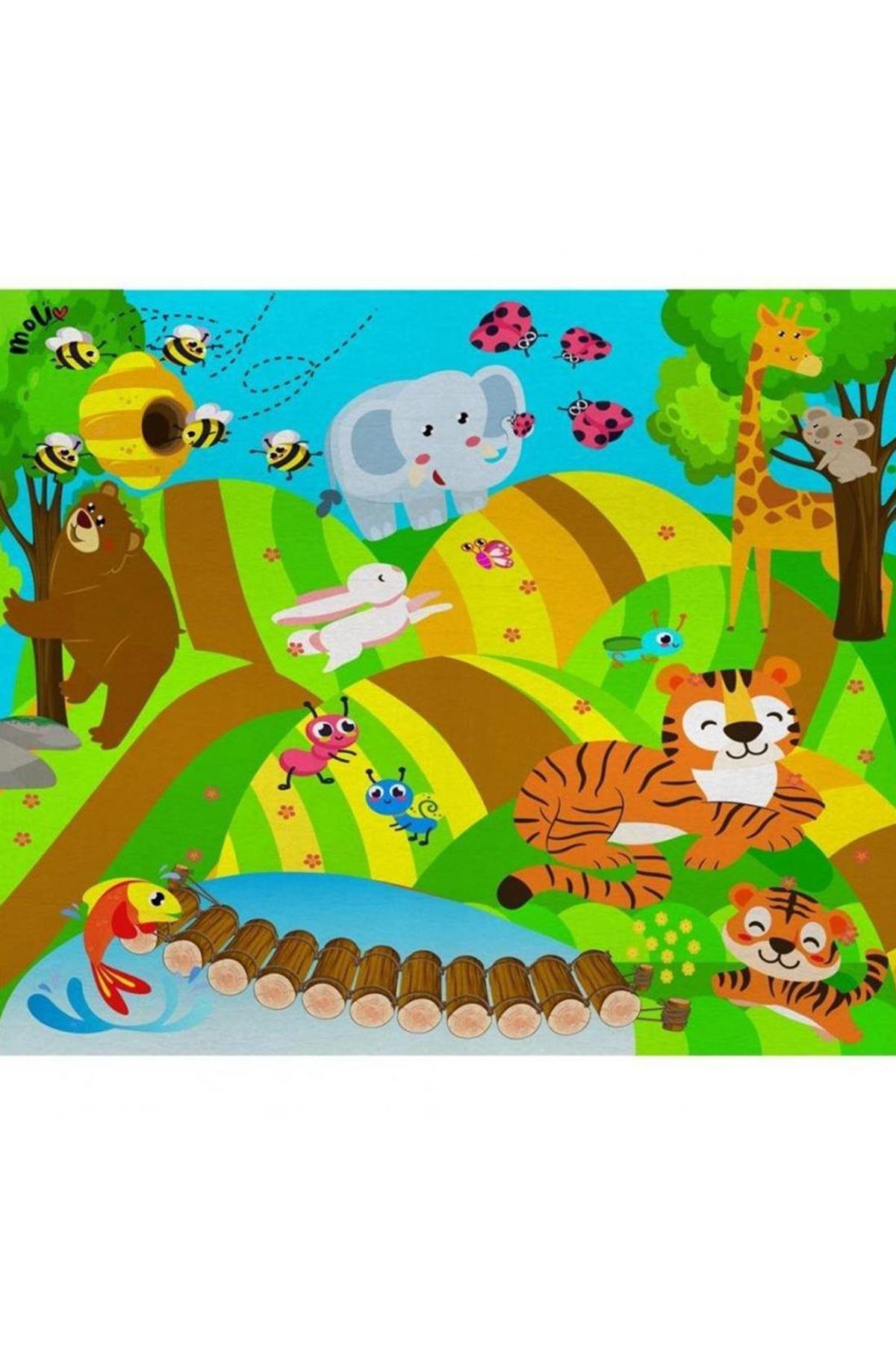 Molie Neşeli Orman Oyun Halısı 035