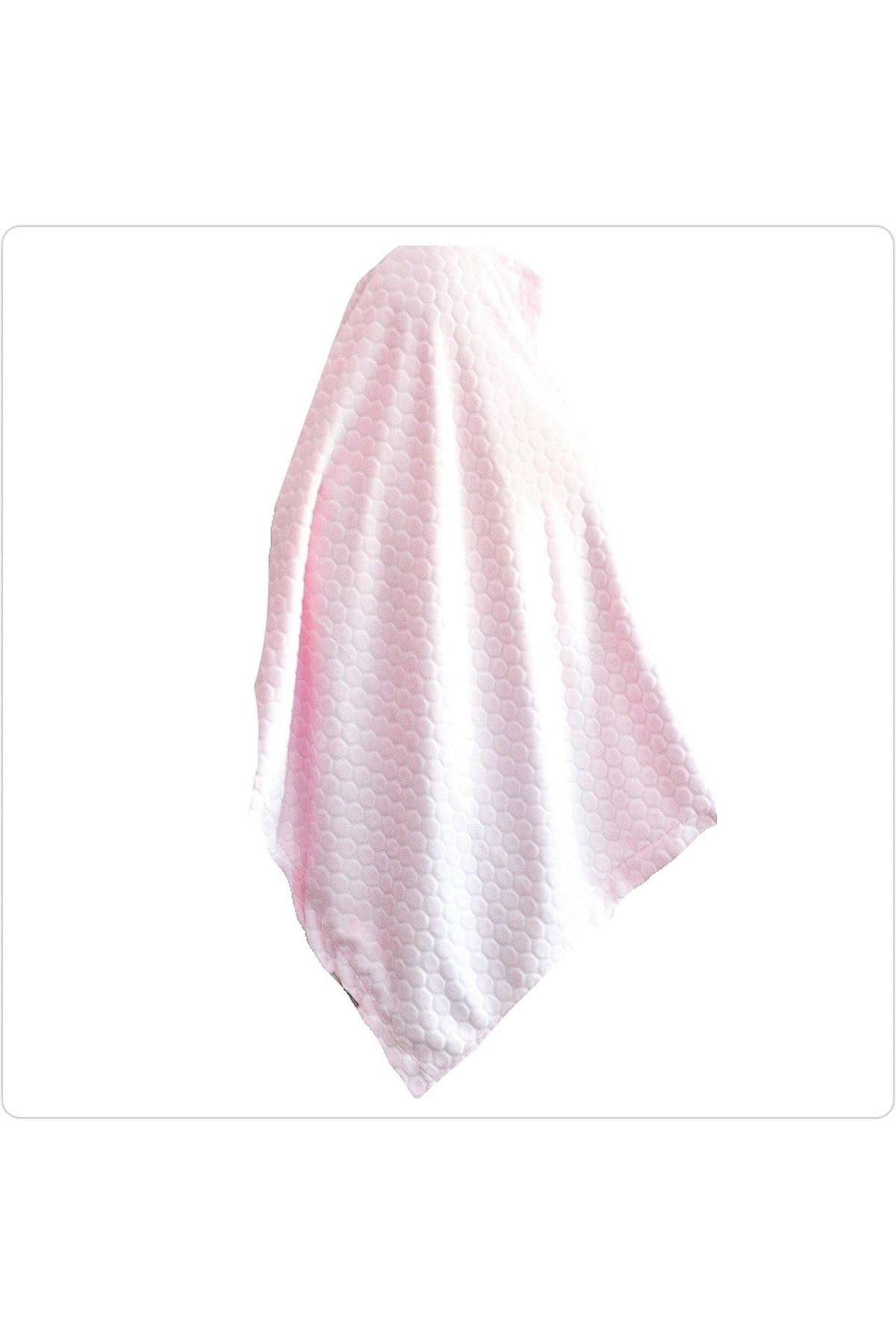 Bebitof Baby Kabartmalı Velboa Bebe Battaniye 95024 Pembe