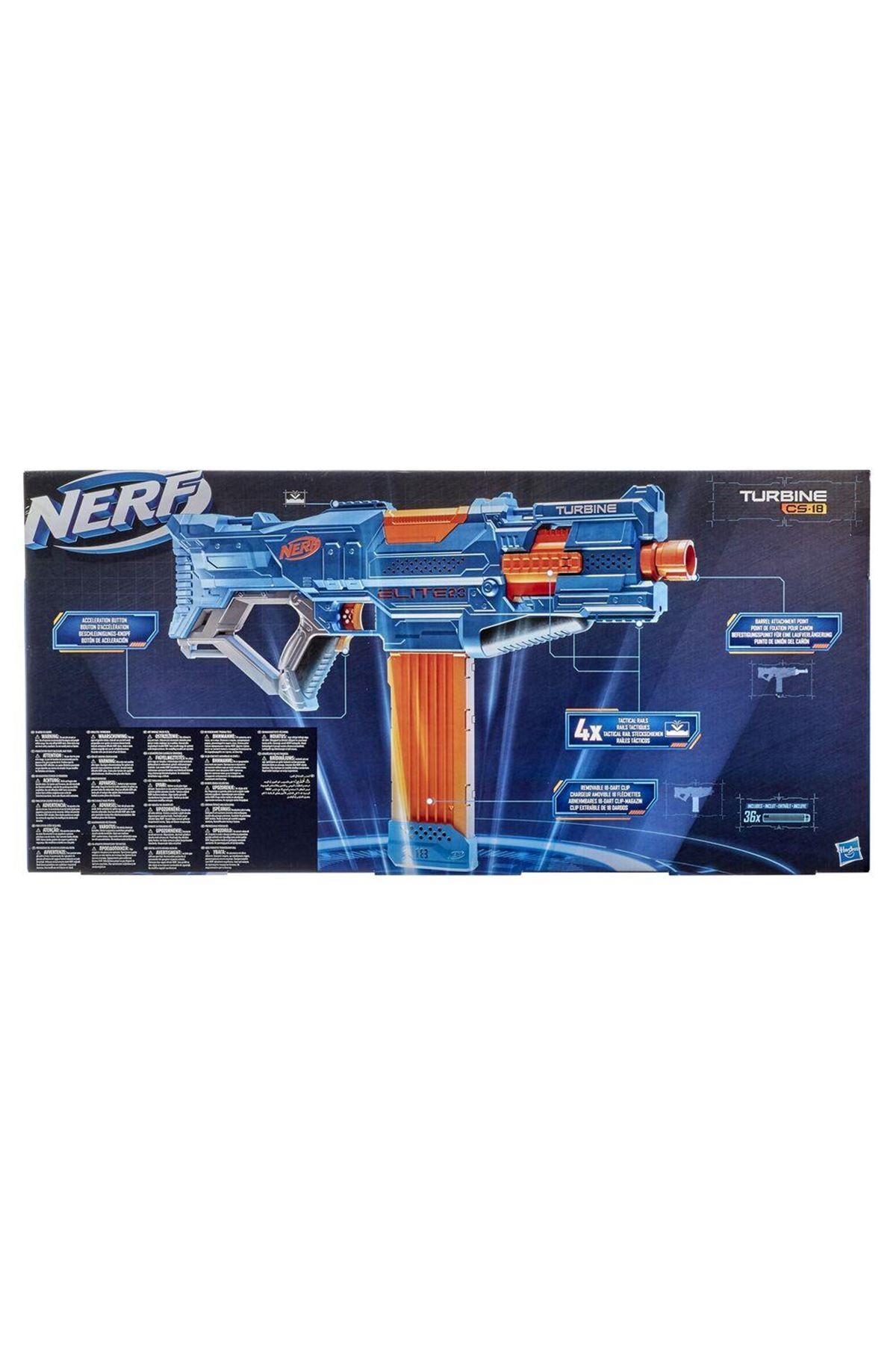 Nerf Elite 2.0 Turbine CS-18 E9481