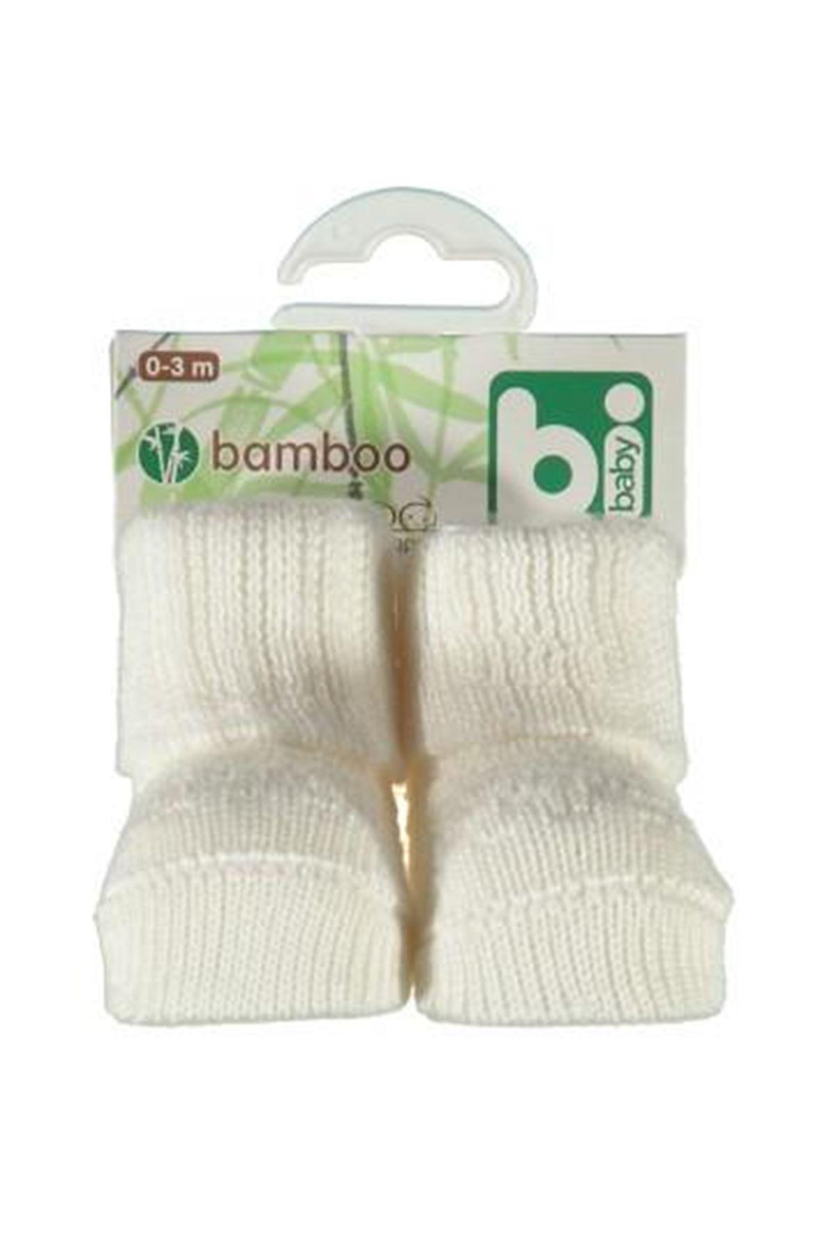 Bibaby Bambu Jakarlı Bebe Çorap 68113