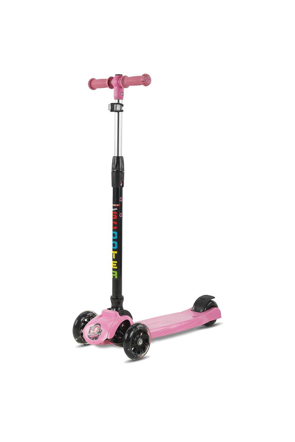Babyhope JYH01 Power Scooter Pembe