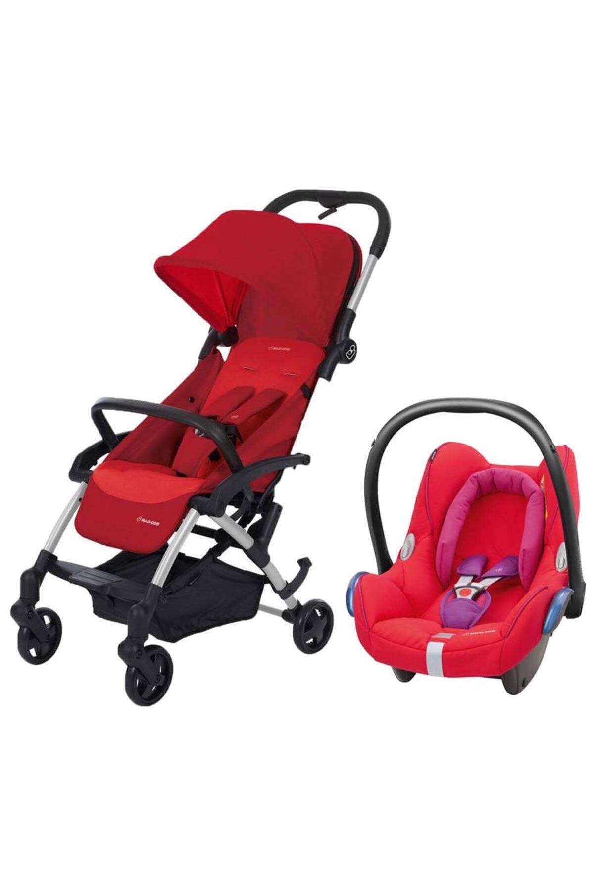 Maxi-Cosi Laika Travel Sistem Bebek Arabası / Vivid Red