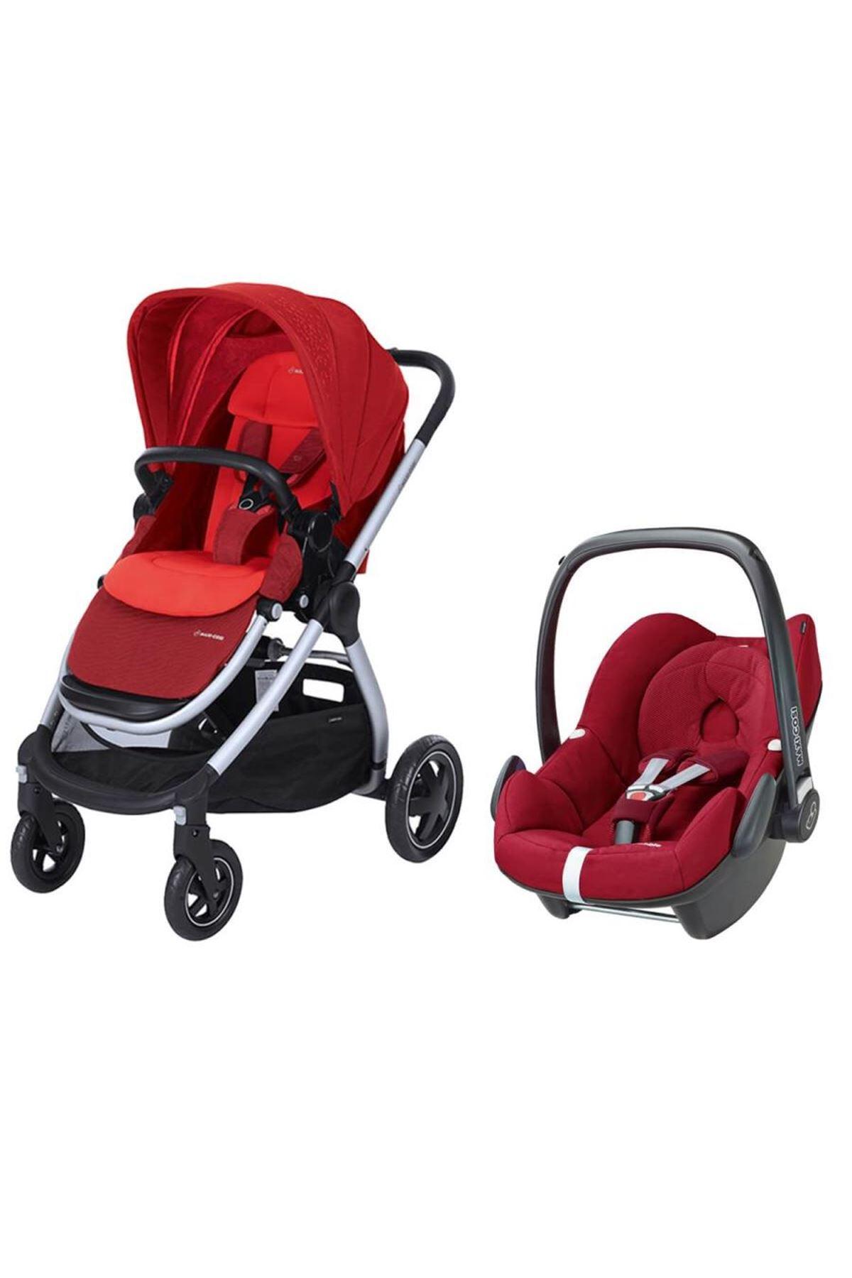Maxi-Cosi Adorra Travel Sistem Bebek Arabası / Vivid Red