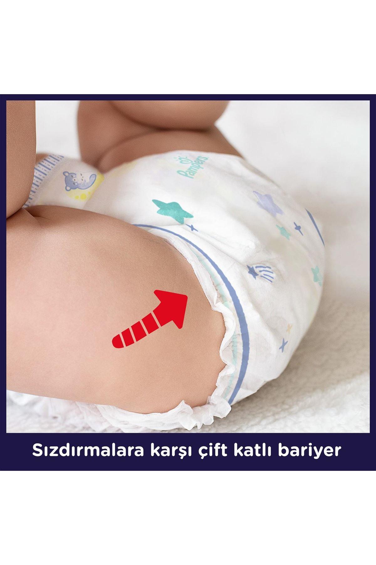 Prima Gece Külot Bebek Bezi 6 Beden 19 Adet