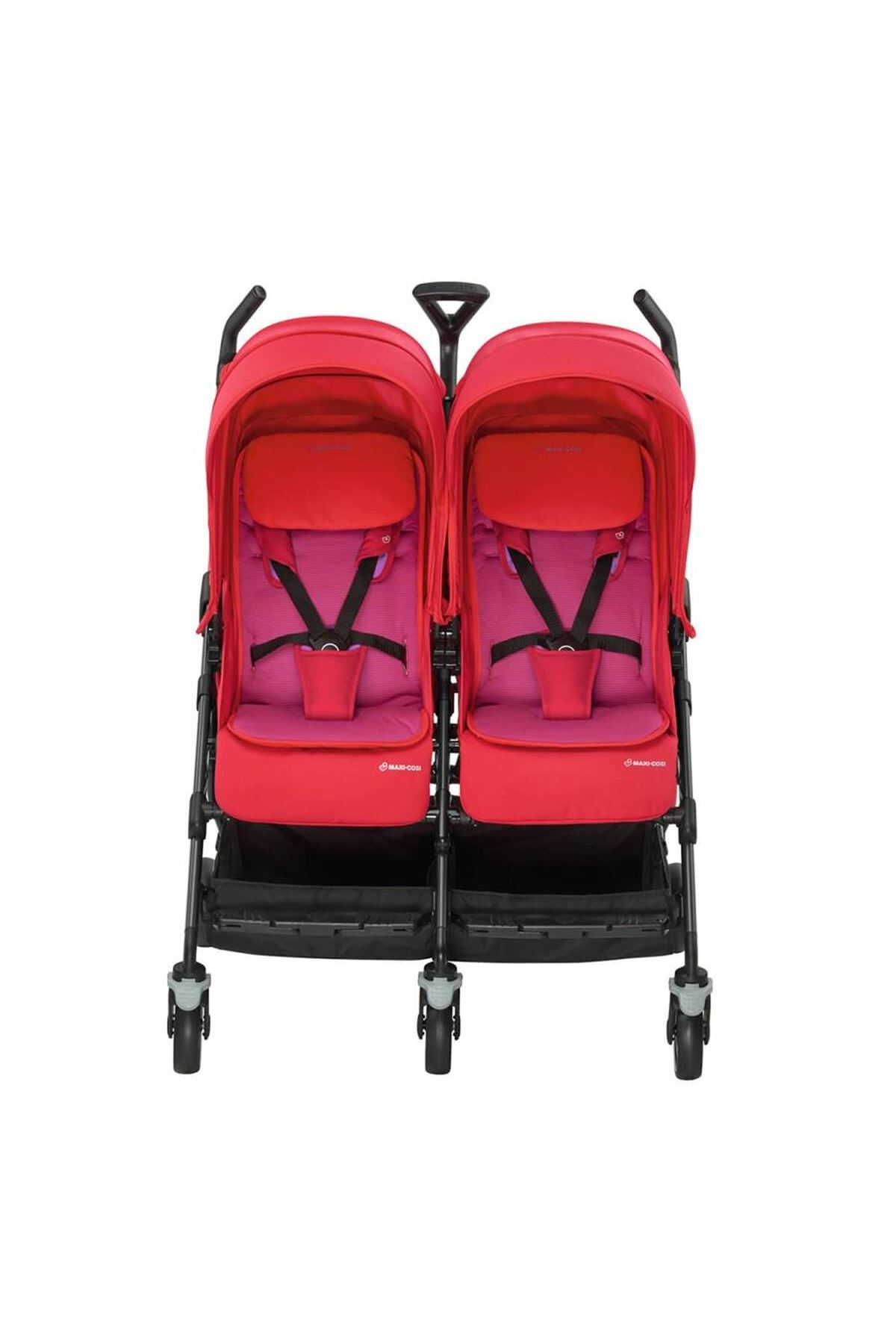 Maxi-Cosi Dana For2 İkiz Bebek Arabası / Red Orchid