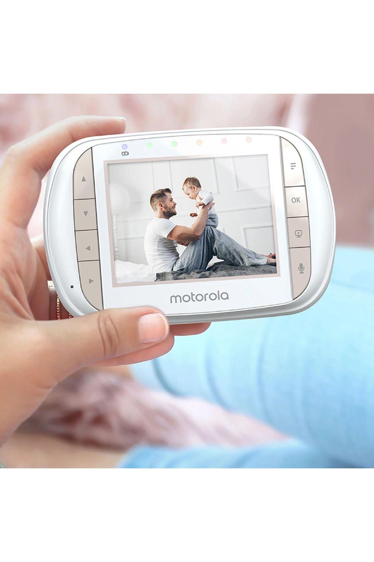 Motorola MBP35XLC Dijital Bebek Kamerası 3.5 İnç LCD Ekran