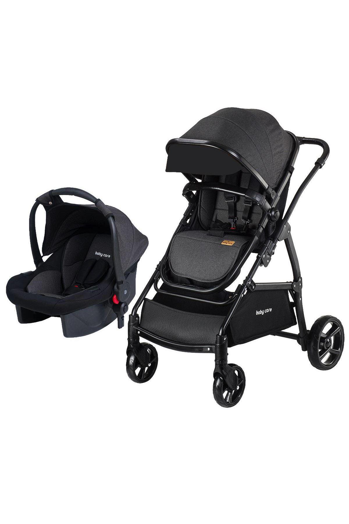Baby Care 310 Safari Travel Sistem Bebek Arabası Siyah