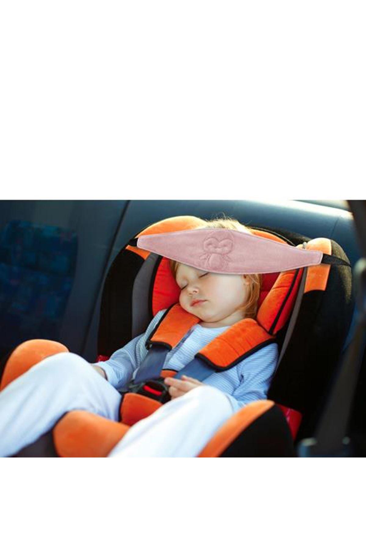 BabyJem Oto Koltuğu Baş Desteği 517 Gül Kurusu