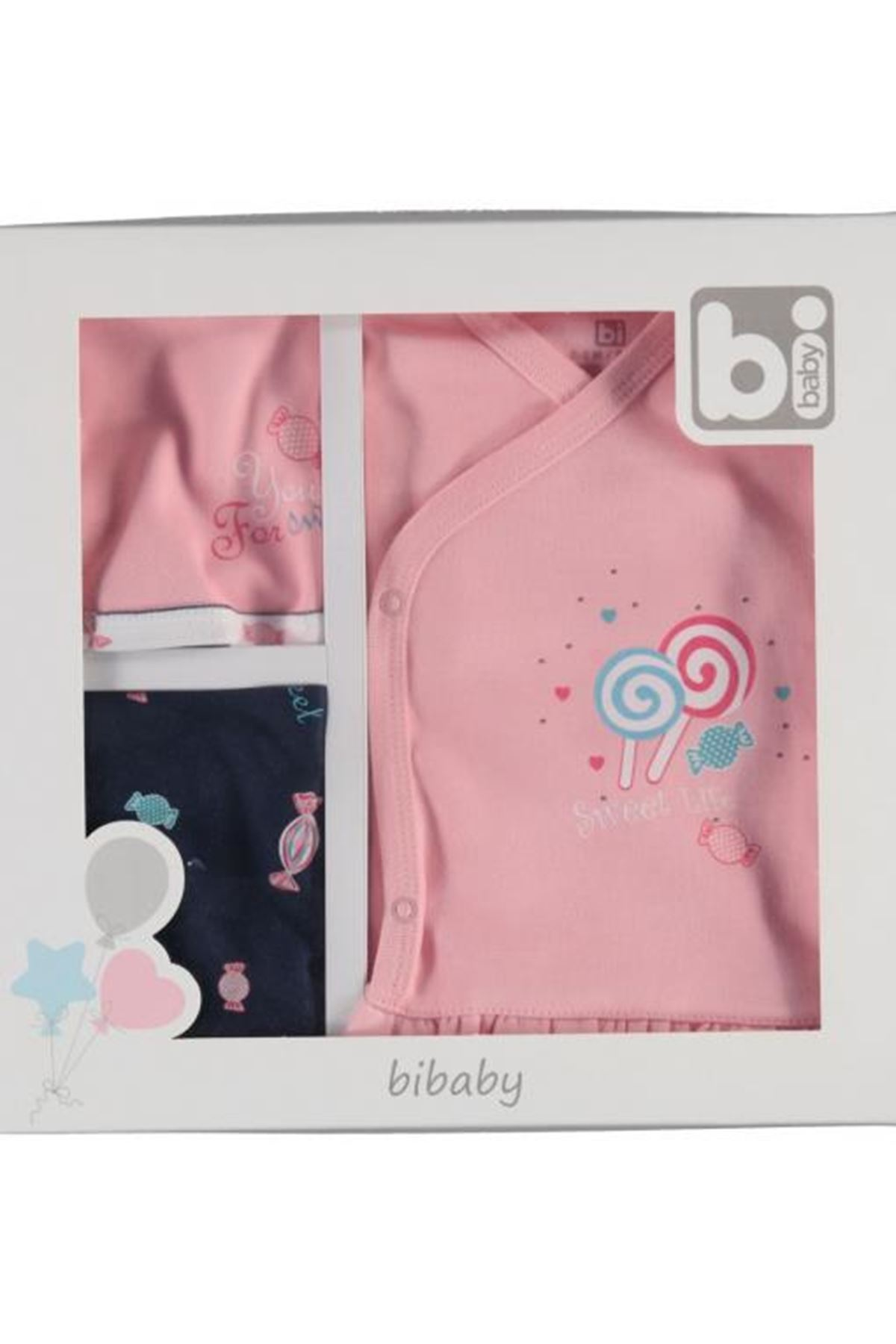 Bibaby Sweet Life 5Li Set 62224 Pembe
